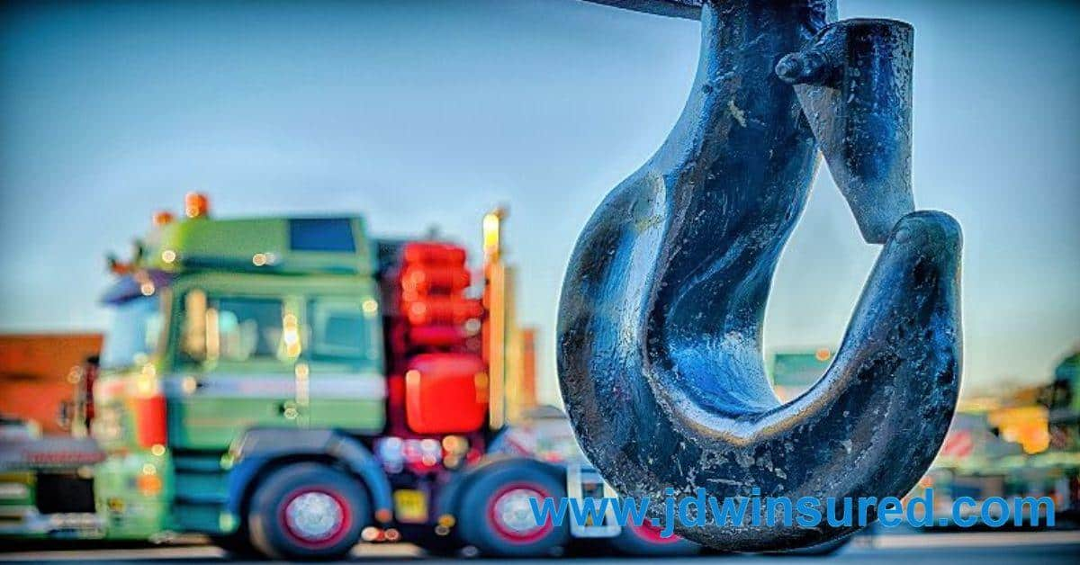 Tow Truck Insurance On Hook Insurance Quotes Jdw Truck Insurance
