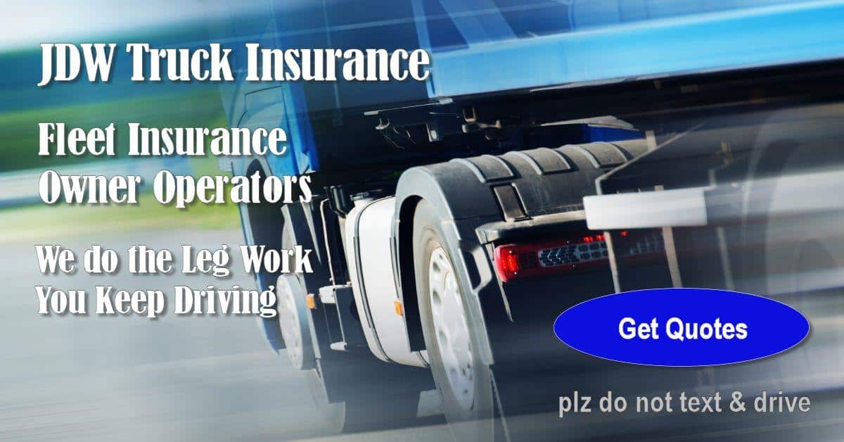 quotes commercial truck insurance