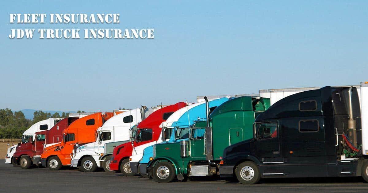 Fleet Insurance Quotes