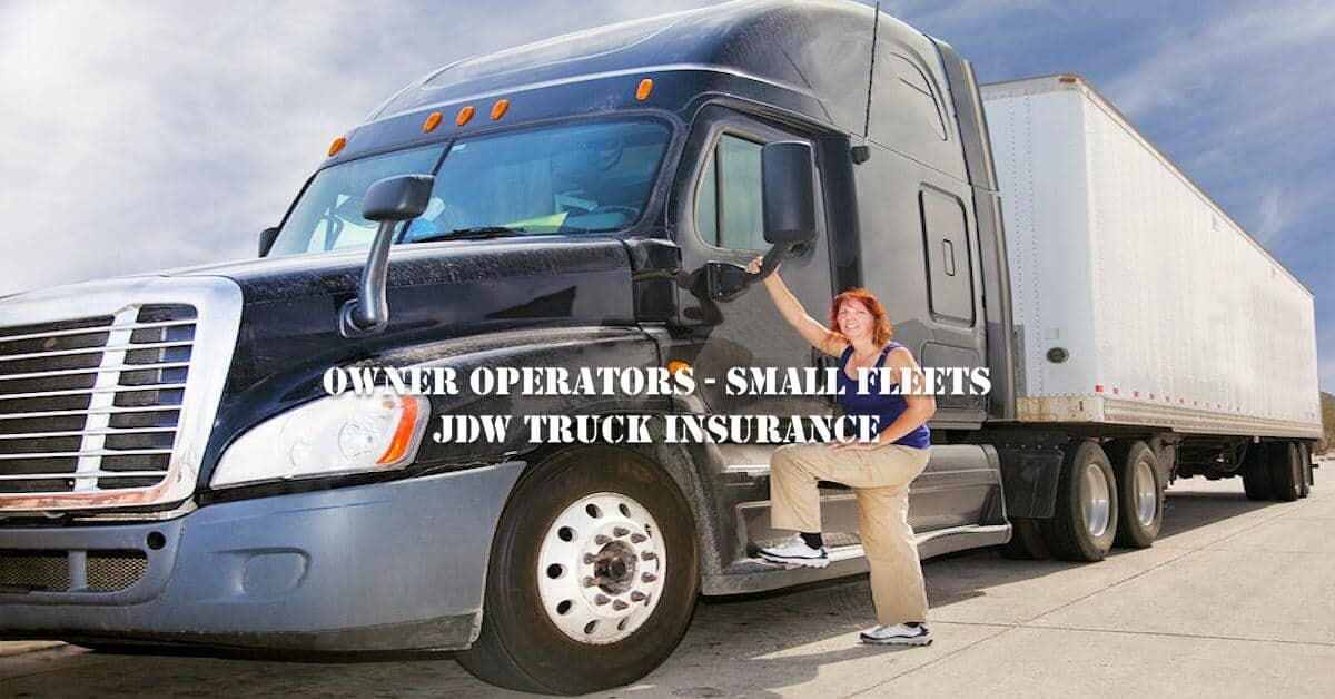 Owner Operators Truck Insurance