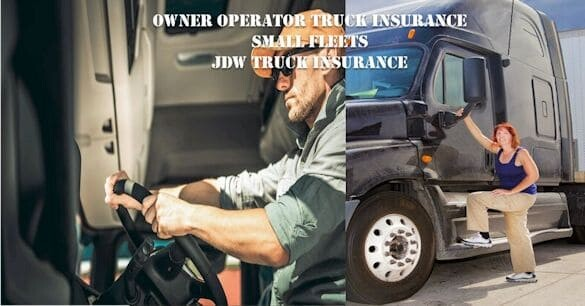 Owner Operators Truck Insurance – Small Fleet Truck Insurance Illinois