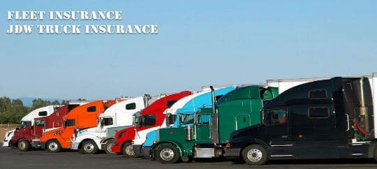 commercial truck fleet owners insurance