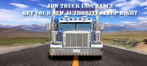 New authority truck insurance for your new trucking company