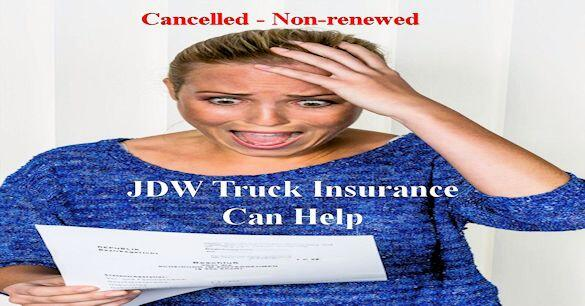 Commercial truck insurance cancellation policy